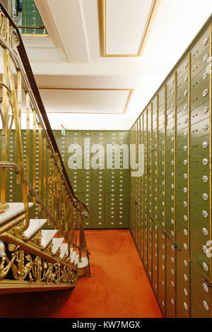 Tresorraum Deutsche Bank Hannover - Stock Photo
