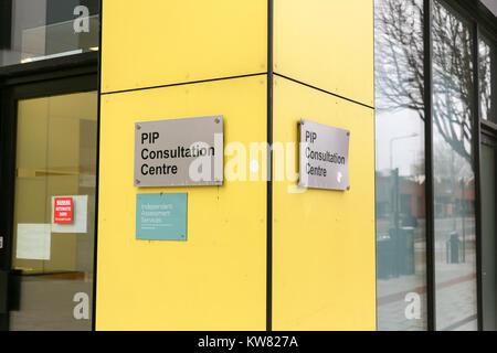 PIP Consultation Centre, Southend on Sea, Essex, UK. - Stock Photo