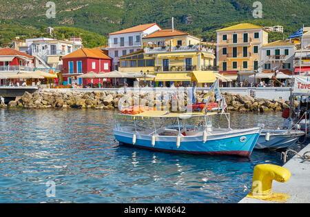 Parga, Ionian Coast, Greece - Stock Photo