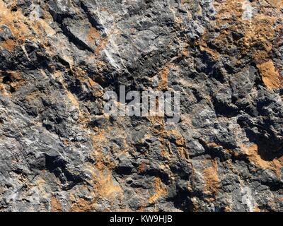 Natrally textured stone surface - Stock Photo
