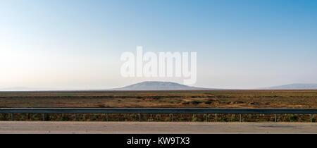 View of mountain - mud volcano - Stock Photo