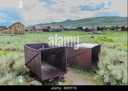 Old, abandoned Mining Equipment - Stock Photo