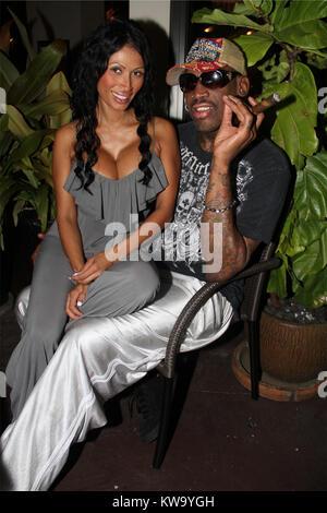 MIAMI BEACH, FL - JANUARY 19: (EXCLUSIVE COVERAGE) Dennis Rodman 'enters rehab for alcohol addiction treatment' - Stock Photo