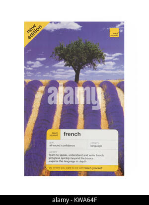 A teach yourself French Language book - Stock Photo