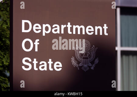 State Department Building, Washington, D.C. - Stock Photo