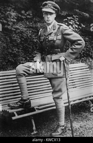 Prince of Wales, the future Edward VIII, of Britain, c. 1915 (BSLOC_2017_1_85) - Stock Photo