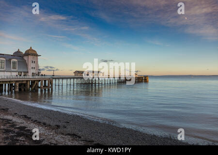 Penarth Pier Pavilion, Penarth, Vale of Glamorgan, Wales, UK - Stock Photo