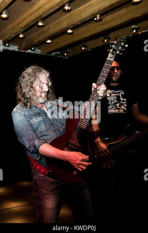 Barcelona, Spain. October 27, 2017. Concert by Leadfinger in Marula Café. Organized by A Wamba Buluba. Photographer: - Stock Photo