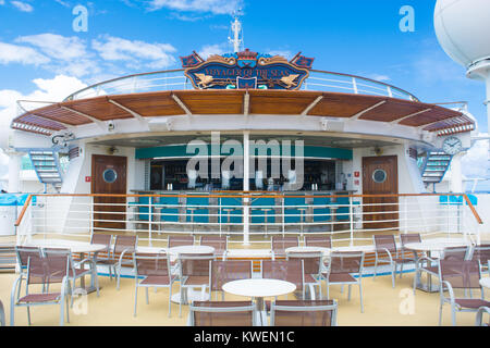 Sky Bar deck 12 Voyager of the Saes - Stock Photo