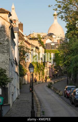 Basilica of Sacré Coeur, Montmartre, Paris, France