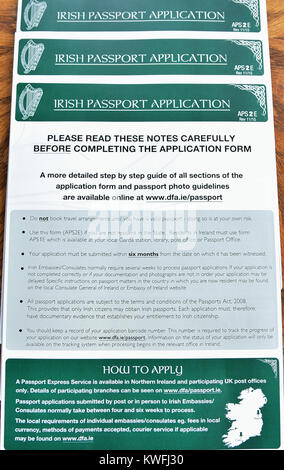 British Passport With Application Form Stock Photo Royalty Free