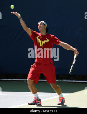 FLUSHING, NY - SEPTEMBER 06: Rafael Nadal day twelve of the 2013 US Open at USTA Billie Jean King National Tennis - Stock Photo