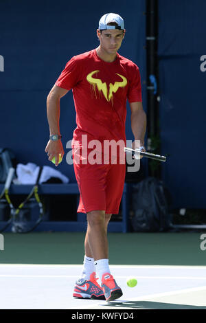FLUSHING, NY - SEPTEMBER 06: Rafael Nadal day twelve of the 2013 US Open at USTA Billie Jean King National Tennis - Stock Photo