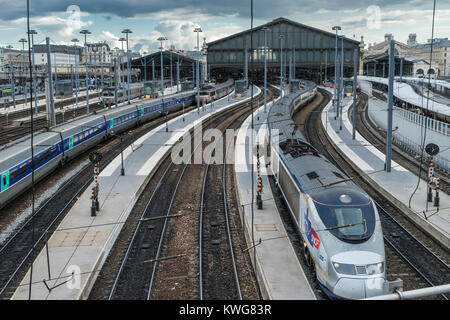 the sncf high speed tgv train france stock photo royalty free image 48137779 alamy. Black Bedroom Furniture Sets. Home Design Ideas