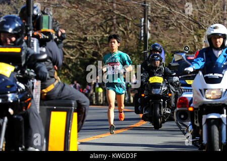 kanagawa, Japan. 2nd Jan, 2018. Naoto Takeishi (), JANUARY 2, 2018 - Ekiden : The 94th Hakone Ekiden Race, 5th Section - Stock Photo