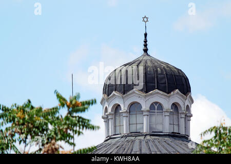 Detail from the Sofia Synagogue - the largest synagogue in Southeastern Europe, one of two functioning in Bulgaria - Stock Photo