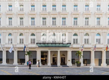 Havana, Cuba - June 27, 2017: Architecture view  from the Capitolio in Havana City Cuba  - Serie Cuba Reportage - Stock Photo