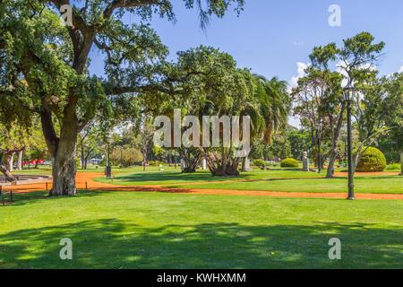 Bosques de Palermo park, Buenos Aires, Argentina - Stock Photo