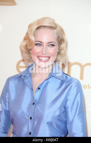 LOS ANGELES, CA - SEPTEMBER 18: Unknown attends the 63rd Primetime Emmy Awards on September 18, 2011 in Los Angeles, - Stock Photo