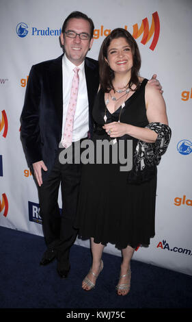 NEW YORK, NY - MARCH 19: Unknown attends the 22nd Annual GLAAD Media Awards at The New York Marriott Marquis on - Stock Photo