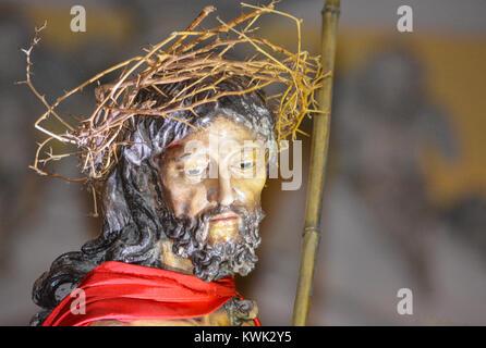 Statue of Jesus Christ in the Cathedral San Juan Bautista, Old San Juan, Puerto Rico