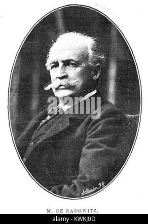 Joseph Maria von Radowitz, de Christian Franzen - Stock Photo