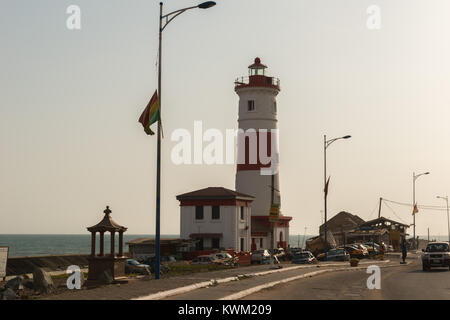 Jamestown lighthouse, Jamestown, Accra, Ghana, Africa - Stock Photo