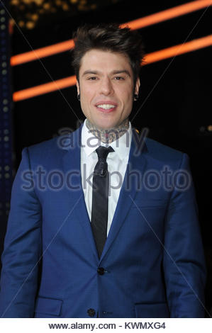 Fedez milano 20-12-2017 - Stock Photo