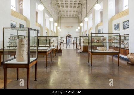 Israel, Jerusalem - 28 december 2017: Rockefeller Museum, formerly the Palestine Archaeological Museum in East Jerusalem - Stock Photo