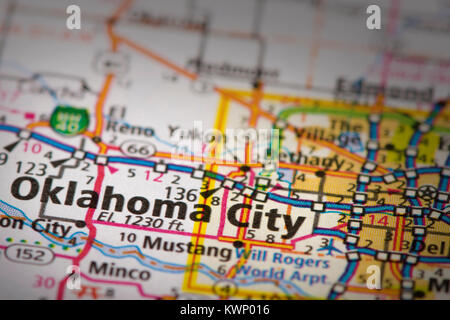 Political map of Oklahoma Stock Photo Royalty Free Image 34455361