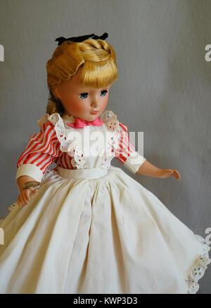 rare 1950 vintage Madam Alexander doll - Stock Photo