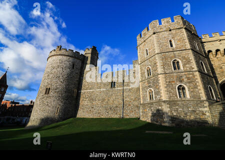 Windsor Berkshire.5th January 2018. A proposal by Windsor council leader Simon Dudley who has been widely criticised - Stock Photo