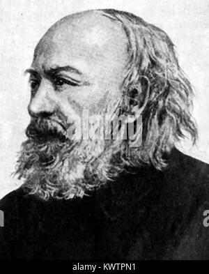 SIR EDWIN CHADWICK KCB - English barrister Victorian social reformer of Poor Laws &   improvements in  sanitation - Stock Photo