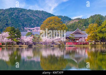 Daikaku-ji Temple at Arashiyama, Kyoto - Stock Photo