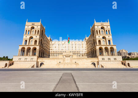 The Government House of Baku is a government building housing various state ministries of Azerbaijan. Located on - Stock Photo