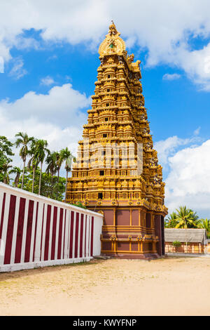 Nallur Kandaswamy Kovil is one of the most significant Hindu temples in the Jaffna District of Northern Province, - Stock Photo