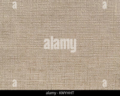 Texture of light brown wallpaper with a stripped pattern. Beige paper surface, structure close-up. - Stock Photo