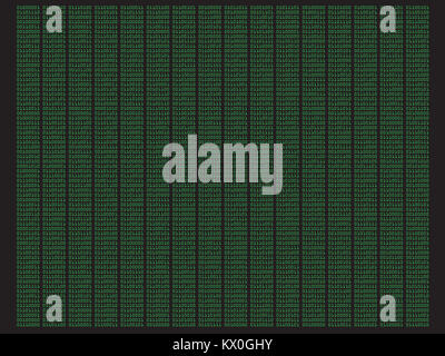 Digital Binary Code - Abstract concept security and data background II - Stock Photo