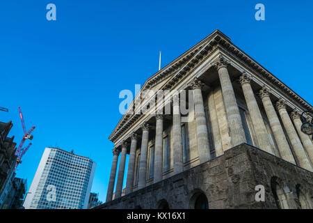 Birminghamm, UK - October 3rd, 2017 : Birmingham town hall - Stock Photo