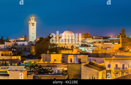 Mosque of Sidi Ali bin Saleh in Le Kef, Tunisia - Stock Photo