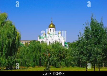 Tiraspol, the capital of Pridnestrovye (Transnistria), officially part of Republic of Moldova: the new Cathedral - Stock Photo