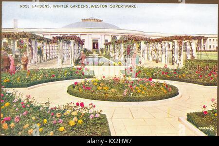 Winter Gardens, Weston-super-Mare, Somerset - Stock Photo