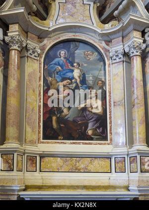 Verona Veneto Italy. Santa Maria Matricolare cathedral; Cartolari chapel. Commissioned by Bartolomeo Cartolari in - Stock Photo