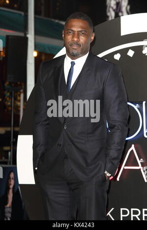 'Molly's Game' UK film premiere at the Vue West End, Leicester Square  Featuring: Idris Elba Where: London, United - Stock Photo