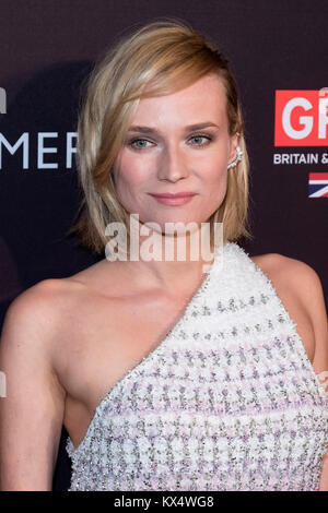 Beverly Hills, USA. 06th Jan, 2018. Diane Kruger attends the BAFTA Los Angeles Awards Season Tea Party at Four Seasons - Stock Photo