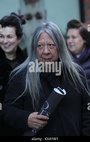 London, UK. 7th January, 2018. John Rocha attends the Kent and Curwen presentation at London Fashion Week Men's - Stock Photo