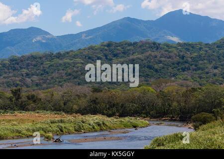Rio Tarcoles, Carara National Park, province Puntarenas, Costa Rica - Stock Photo