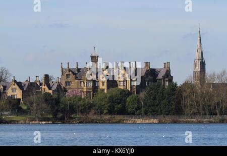 Brownlow House, Lurgan, County Armagh Northern Ireland. - Stock Photo