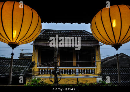 An old house in Hoi An - Vietnam - Stock Photo