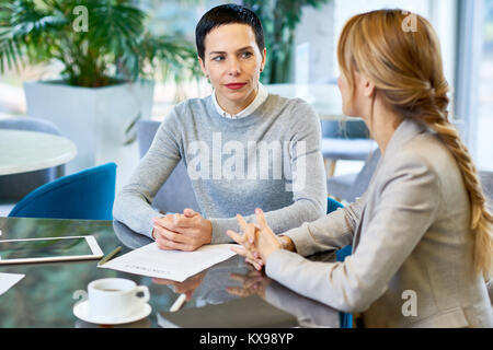 Productive Working Meeting of Business Partners - Stock Photo
